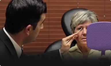 Newport Beach Lower Eyelid Under Eye Bag Filler Treatment Click to View Video