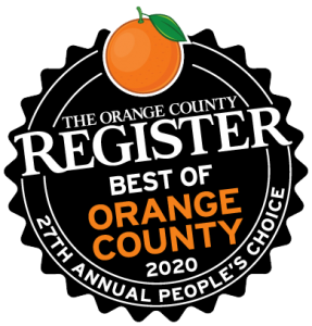 Orange County Register Best of Orange County 2020 graphic