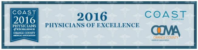 Coast Banner 2016 Physicians of Excellence