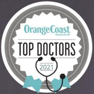 Orange Coast top doctors 2021 graphic