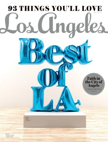 Los Angeles Best of LA Magazine Cover depicting magazine name