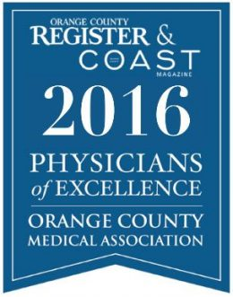 Orange County Register & Coast 2016 Physicians of Excellence Banner